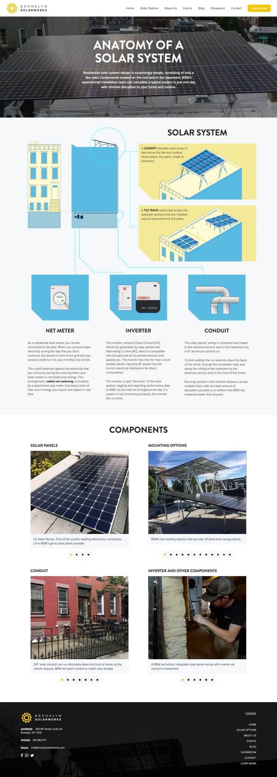 brooklyn solarworks tablet brooklyn web design bushwick design