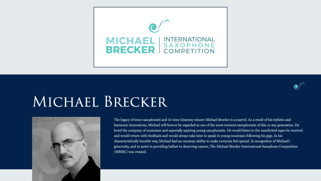 michael brecker brooklyn web design bushwick design