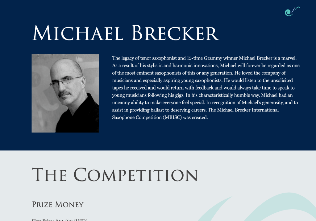 michael brecker tablet brooklyn web design bushwick design