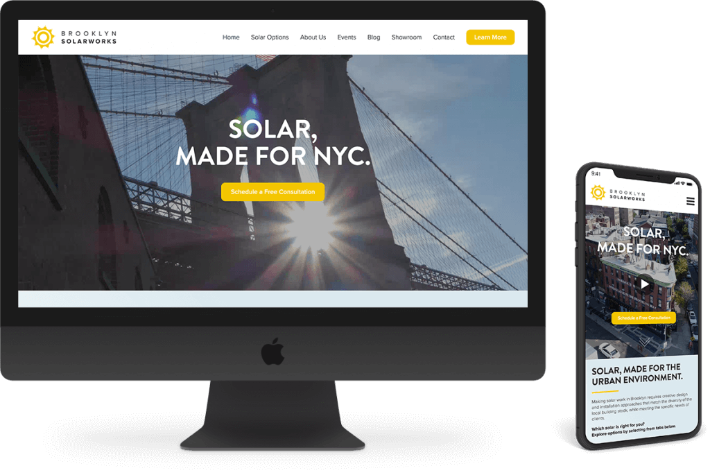 mobile brooklyn web design bushwick design