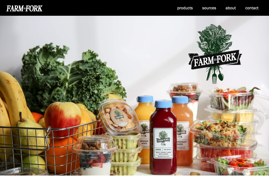 farm to fork laptop brooklyn web design bushwick design