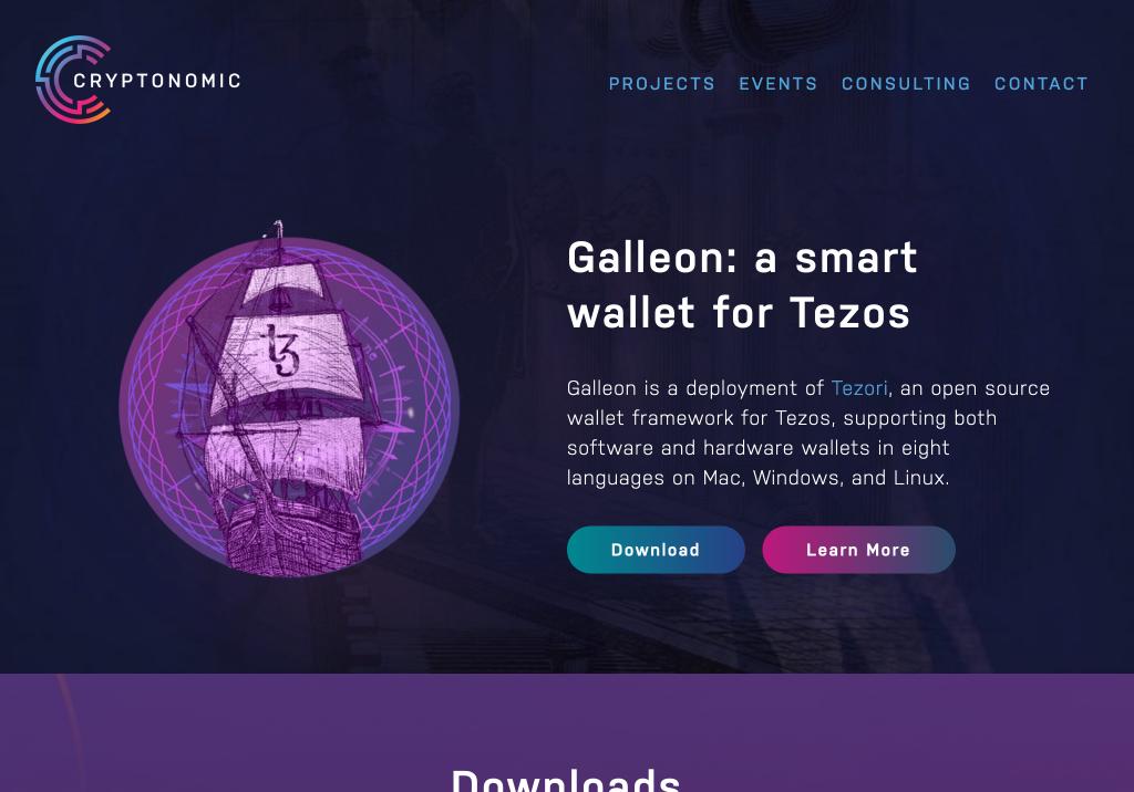 galleon fullpage brooklyn web design bushwick design