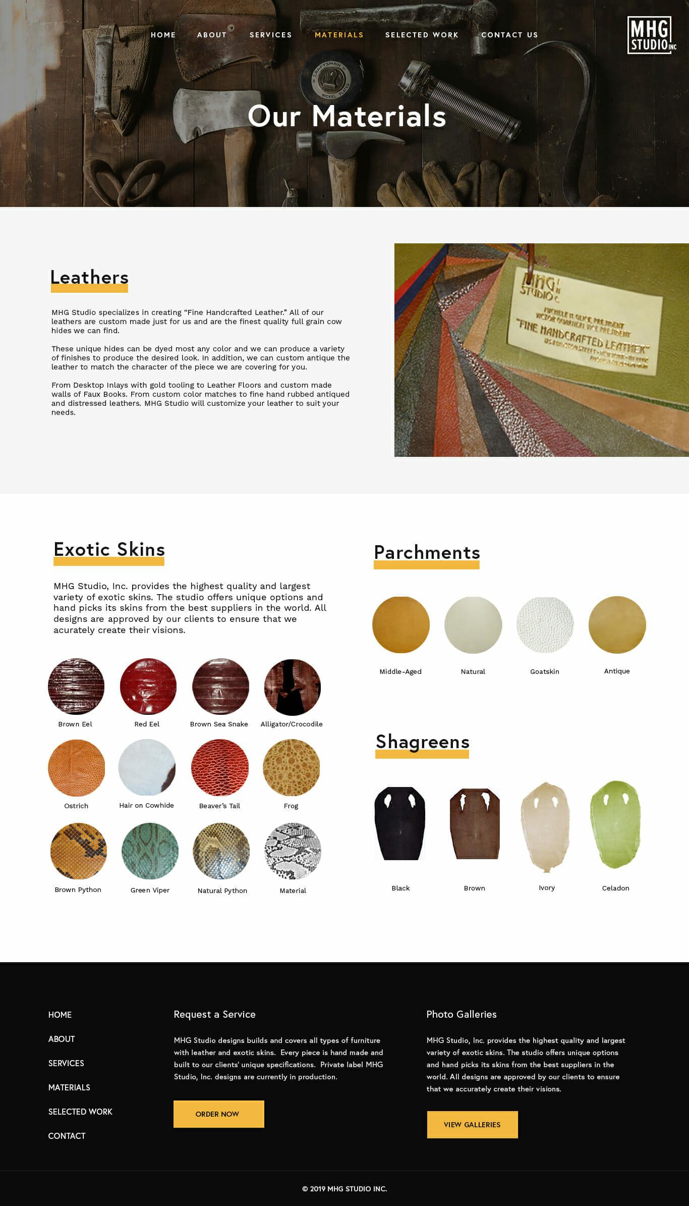 mhg studio fullpage brooklyn new york web design bushwick design