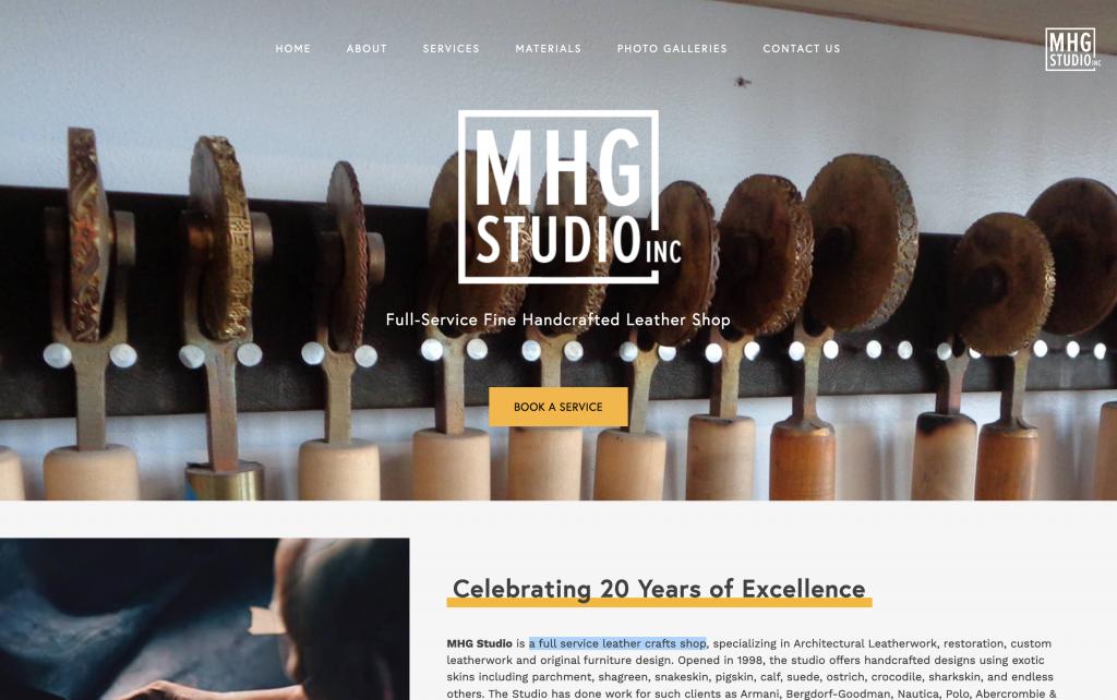 mhg studio laptop brooklyn new york web design bushwick design