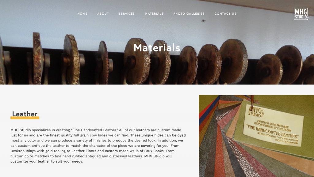 mhg studio tablet brooklyn new york web design bushwick design